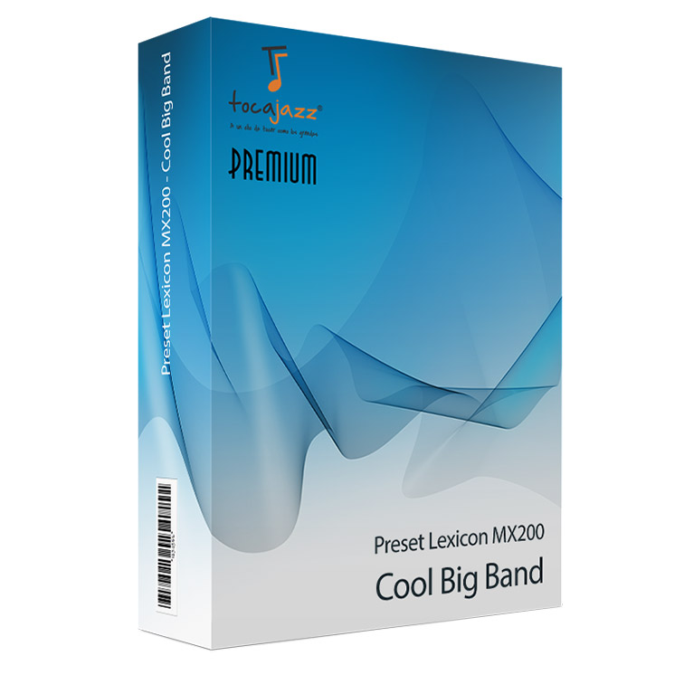 Producto: Preset Lexicon MX200 Cool Big Band